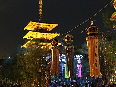 七夕のゆうべ in 四天王寺