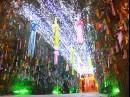 幻想的なササトンネル点灯 「七夕のゆうべ in 四天王寺」