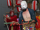 新世界で奇祭「セルフ祭」 人並べやUFOを呼ぶなどの儀式