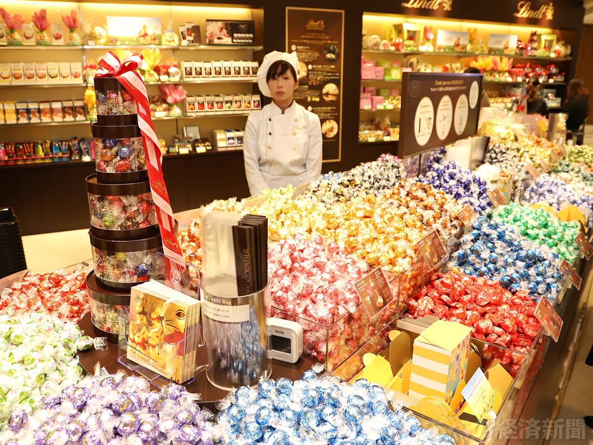 リンツ ショコラ カフェ 天王寺ミオ店